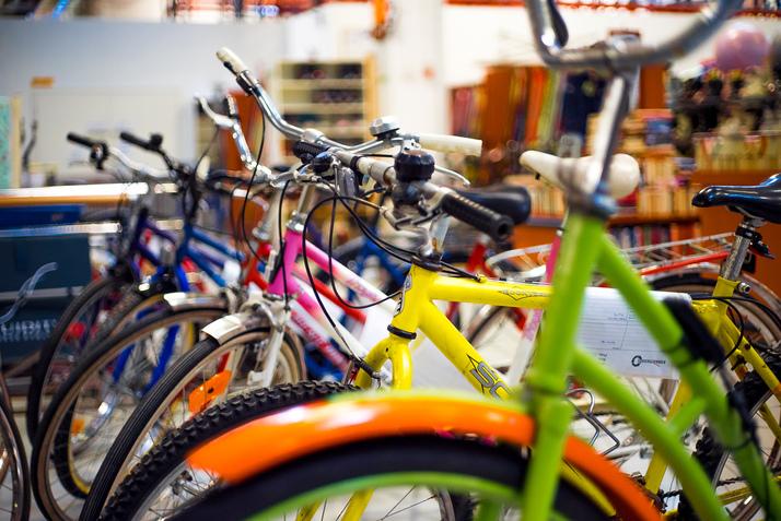 Polkupyörä Lähijunassa